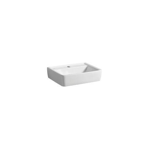 Geberit Keramag Renova Plan Handwaschbecken B:50xT:38cm ohne Hahnloch ohne Überlauf weiß mit KeraTect 272151600