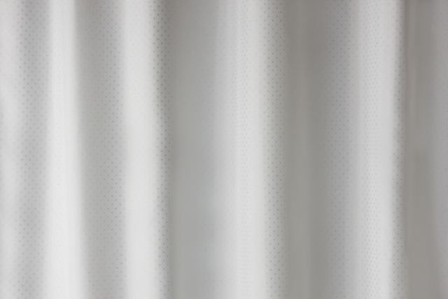 HEWI Duschspritzschutzvorhang Serie 801 Dekor weiß silber 801.52.01001