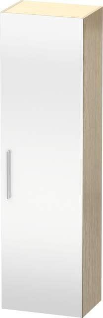 Duravit Vero Hochschrank B:50xH:176xT:36cm 1 Spiegeltür Türanschlag rechts eiche gebürstet VE1176R1212