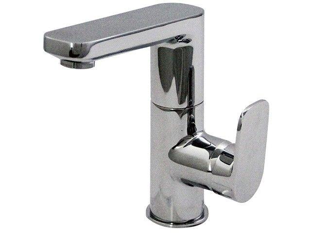 Ideal Standard Tonic II Einhebel-Waschtischmischer mit Ablaufgarnitur mit hohem schwenkbarem Gussauslauf Ausladung 120 mm chrom A6448AA