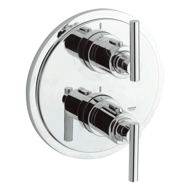 Grohe Atrio Unterputz-Thermostat-Wannenbatterie chrom 19399000