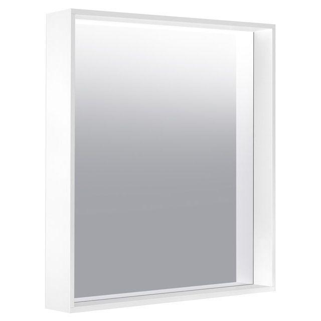 Keuco X-LINE Kristallspiegel unbeleuchtet B:65xH:70xT:10,5 cm cashmere seidenmatt 33295182000
