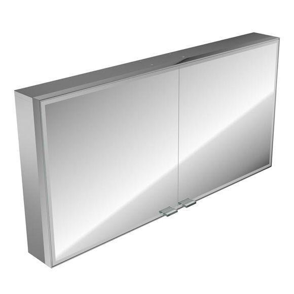 emco asis prestige Lichtspiegelschrank ohne Radio 989706014, Aufputz, Breite 1287 mm