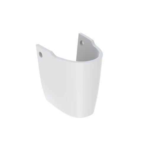 Geberit Keramag Renova Halbsäule für Handwaschbecken weiß mit KeraTect 290530600