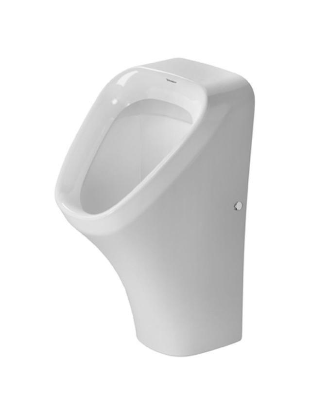 Duravit DuraStyle Urinal ohne Deckel Zulauf von hinten weiß mit Wondergliss 28043000001