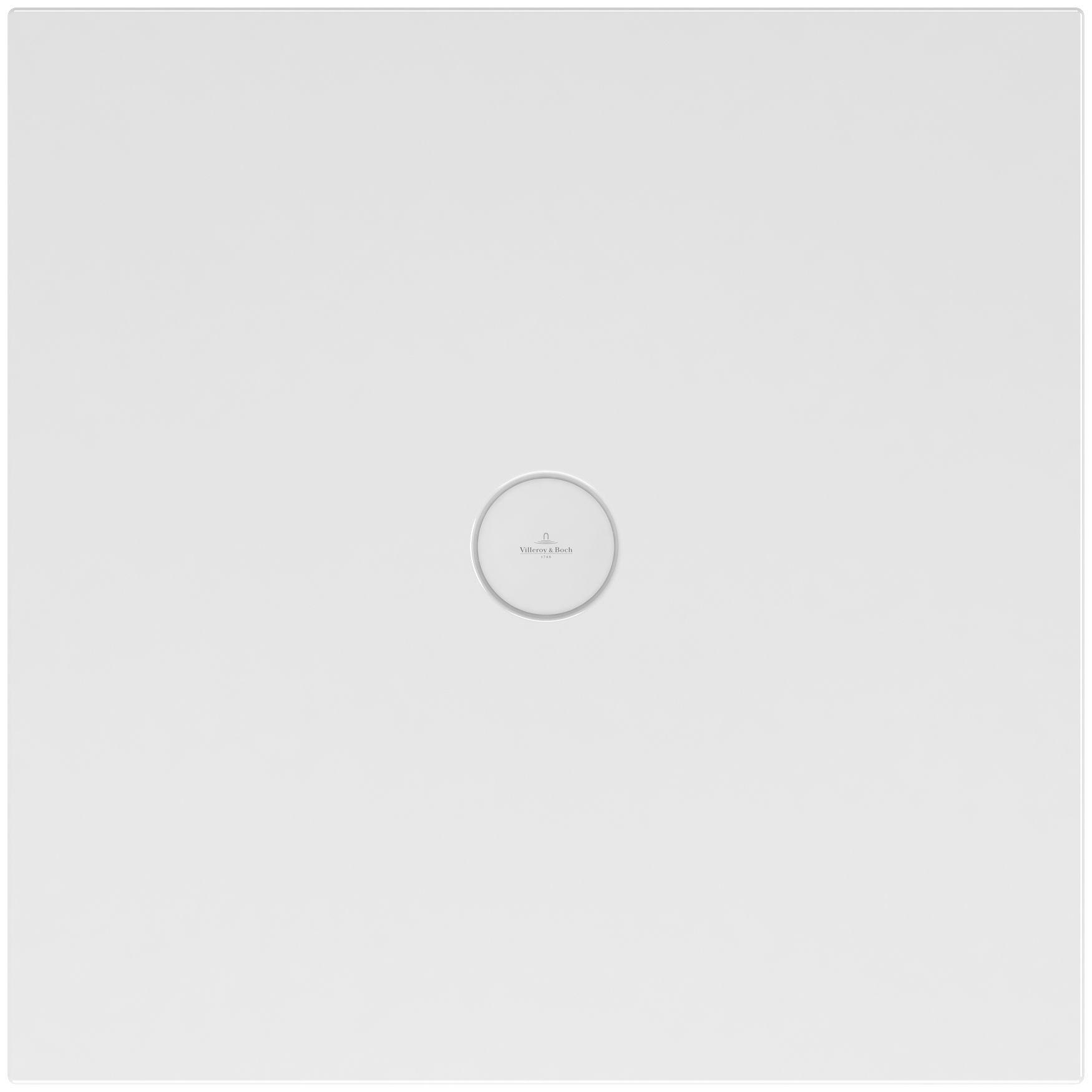 Villeroy & Boch Subway Infinity Duschwanne L:100xB:100xH:4 cm ungeschnitten weiß mit Antirutsch 6228J502