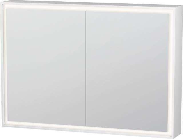 Duravit L-Cube Spiegelschrank mit Beleuchtung 700x1000x155mm mit LED Beleuchtung 46 W LC755200000