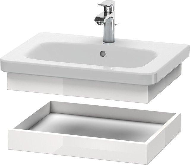 Duravit DuraStyle Ablageboard B:58xH:8,4xT:44,8 cm weiß hochglanz DS618002222