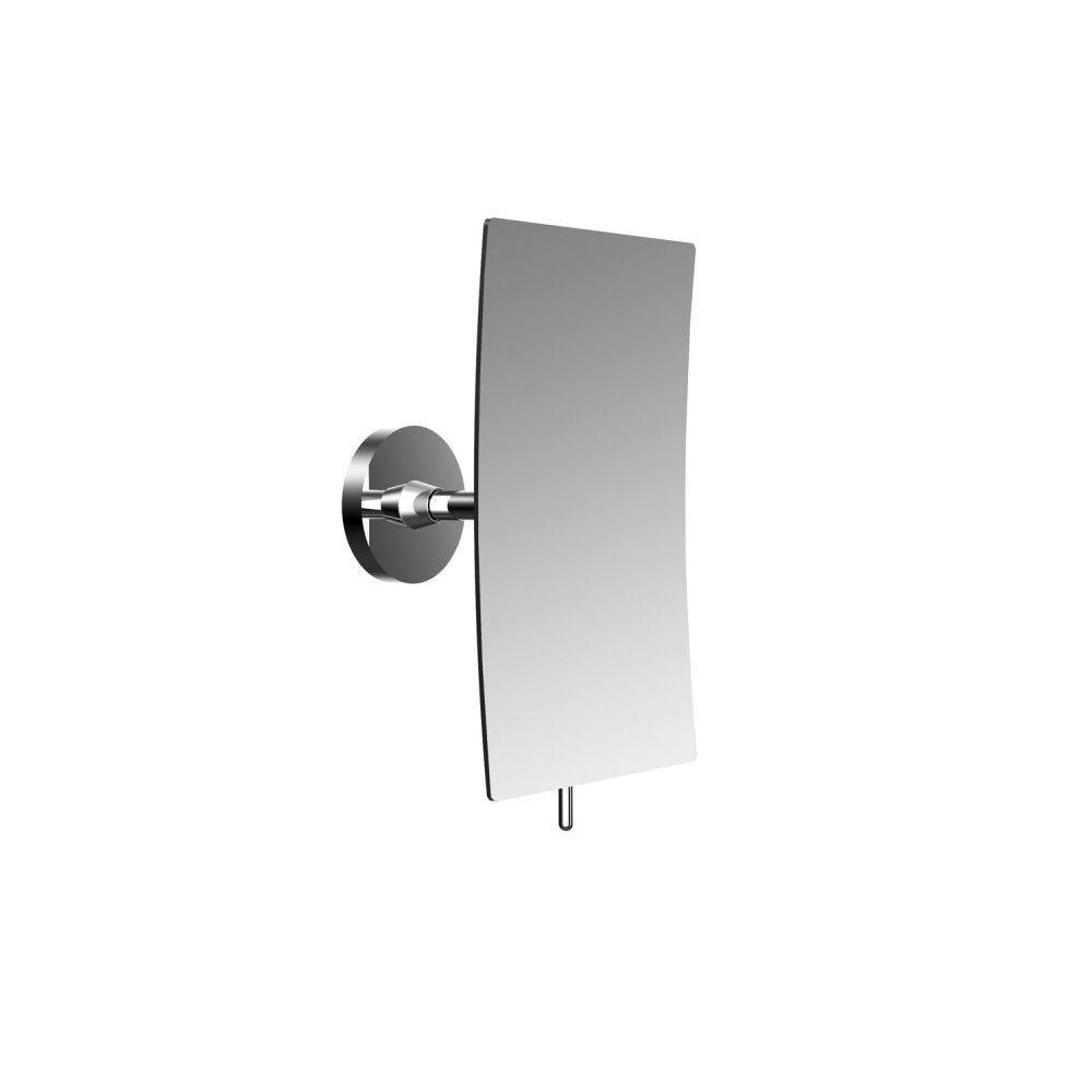Emco Round Kosmetikspiegel H:20,8xB:13,2cm 3-fache Vergrößerung chrom 109400137