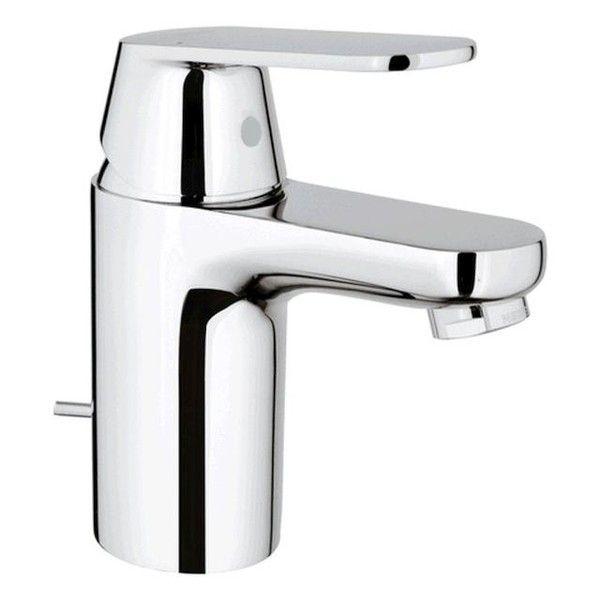 Grohe Eurosmart Cosmopolitan Einhand-Waschtischbatterie NIEDERDRUCK Zugstangen- Ablaufgarnitur chrom 32955000