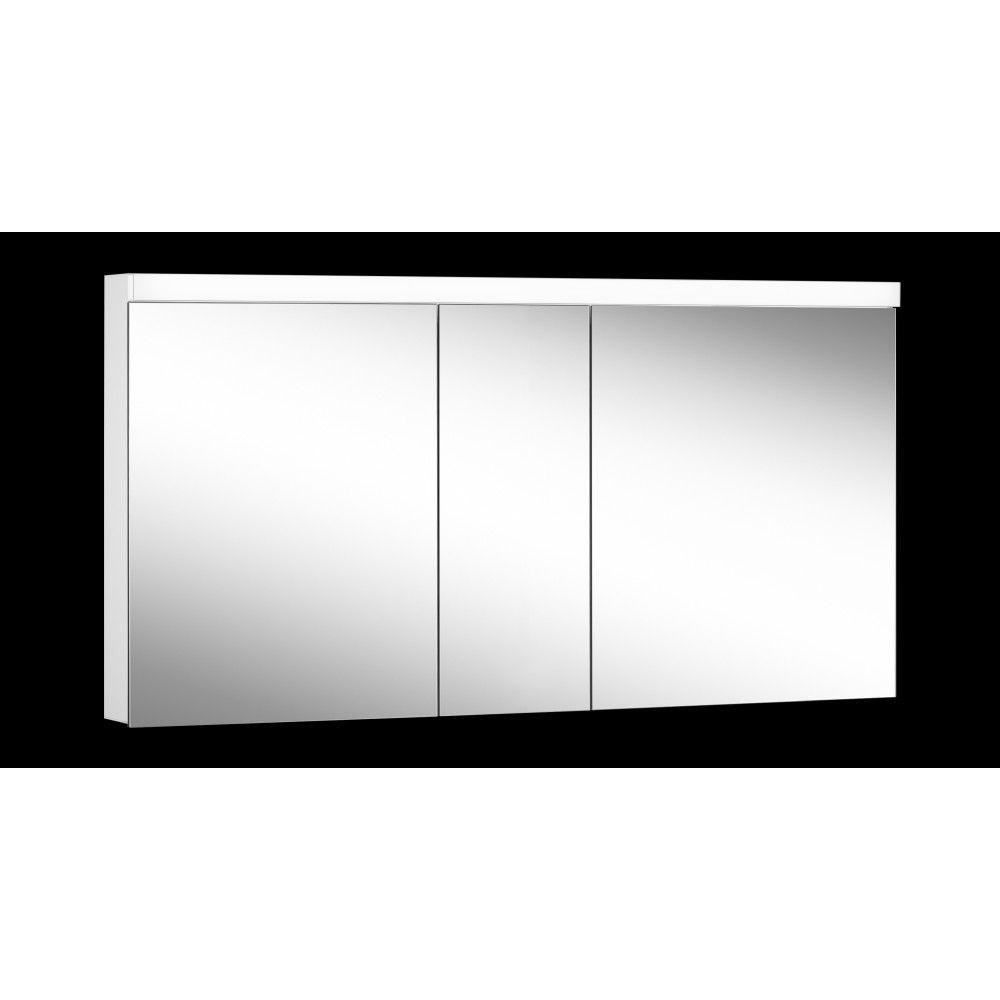 Schneider Spiegelschrank LOWLINE Plus 150/3/LED B:150xH:74,8xT:12cm mit Beleuchtung weiß 172.150.02.02