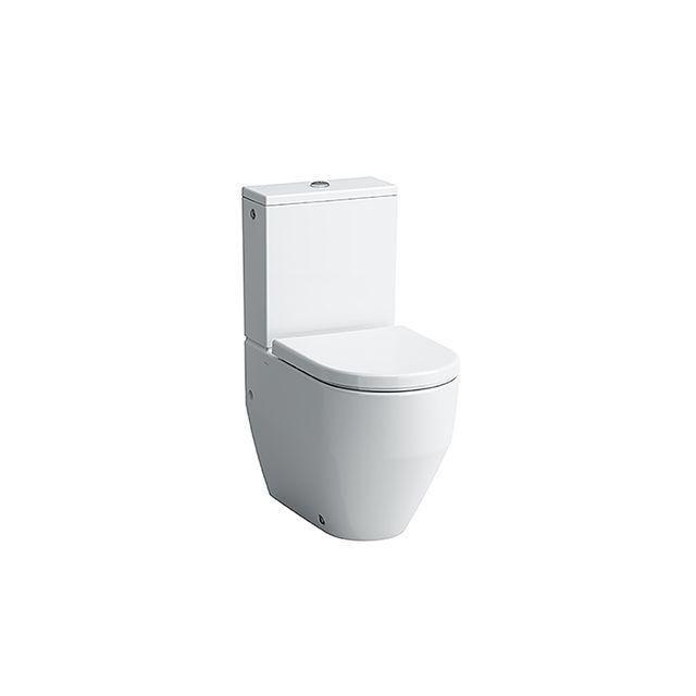 Laufen Pro Tiefspül-Stand-WC für Kombination Abgang waagerecht L:65xB:36cm weiß H8259520000001