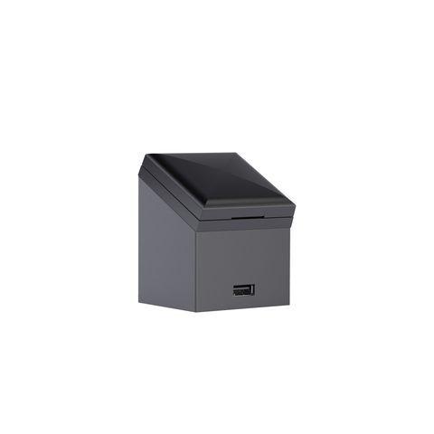Geberit Keramag Universal Steckdose mit USB-Anschluss für Hoch- und Seitenschränke mit Tür  501030000