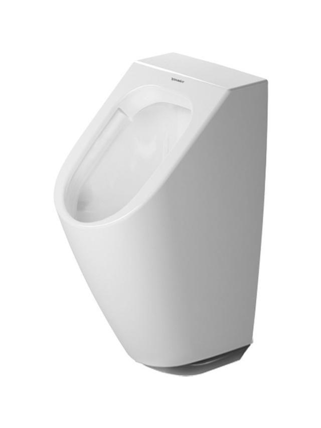 Duravit ME by Starck Urinal ohne Deckel Zulauf von hinten weiß mit Wondergliss 28093100971