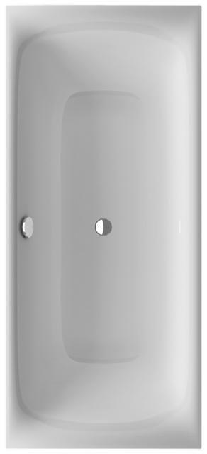 Bette Lux Rechteck-Badewanne L:180xB:80xT:45cm weiß 3441-000
