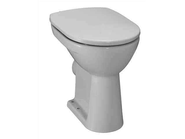 Laufen Pro Flachspül-Stand-WC L:47xB:36xH:45cm weiß mit CleanCoat LCC H8259564000001
