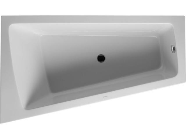 Duravit Paiova Eck-Badewanne B:100xL:170cm Ecke links mit Acrylverkleidung weiß 700264000000000