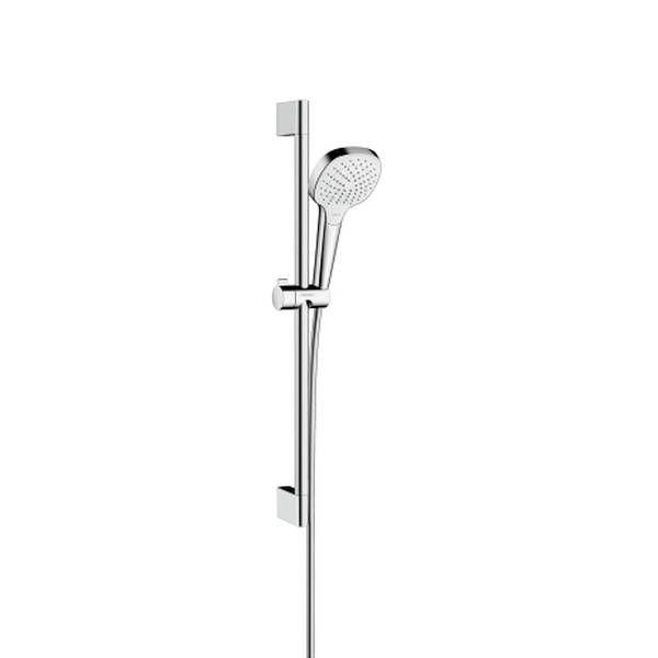 Hansgrohe Croma Select E Vario Brauseset EcoSmart 9l/min 65cm weiß chrom 26583400