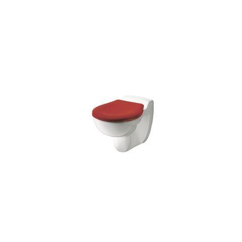 Geberit Keramag Bambini WC-Sitz für Kinder mit Deckel rot mit Edelstahlscharniere 573337000