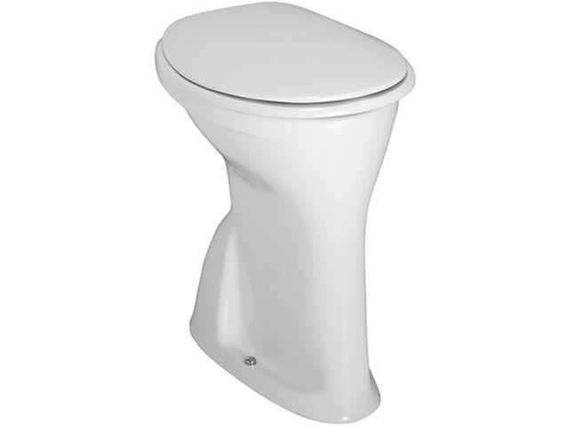 Laufen Albonova Flachspül-Stand-WC Abgang senkrecht L:48xB:35cm weiß H8219980000001 - MAIN