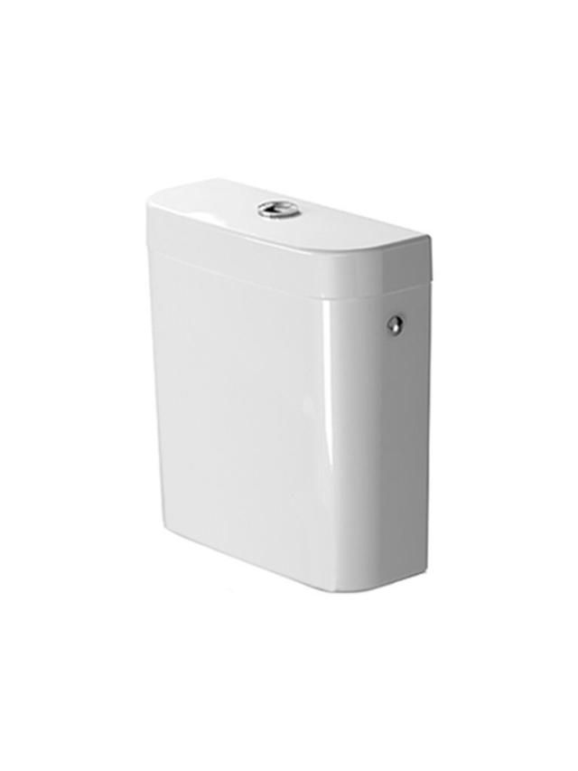 Duravit Darling New Spülkasten mit DualFlush Innengarnitur chrom weiß mit Wondergliss 09310000051