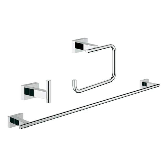 Grohe Essentials Cube Bad-Set 3 in 1 chrom 40777001