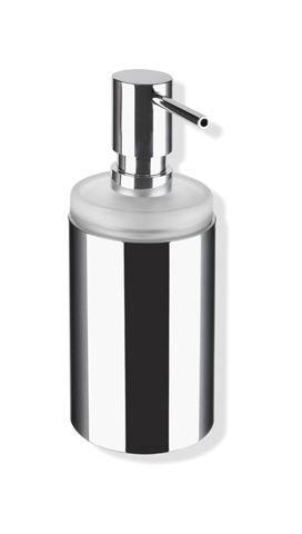 HEWI Seifenspender Glas mit Halter System 162 Halter chrom 162.06.110540