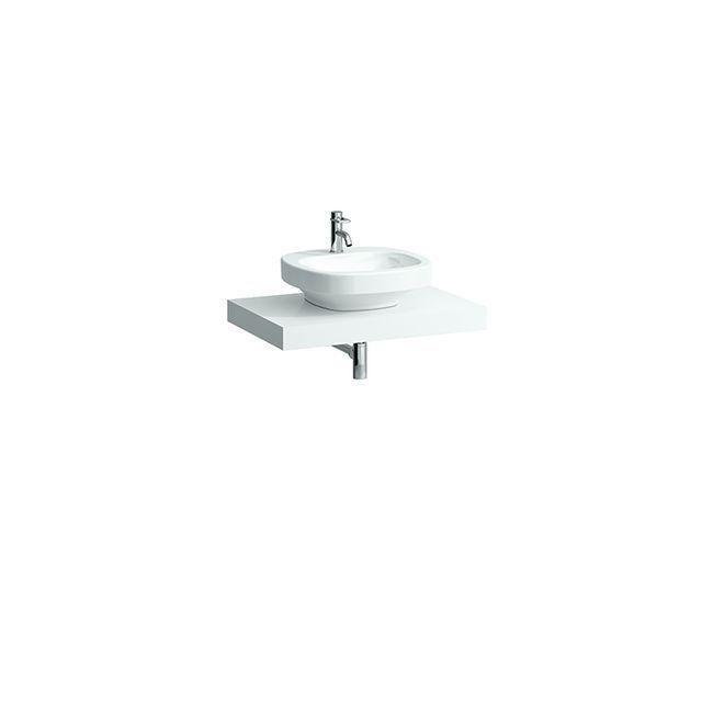 Laufen Case Waschtischplatte Ausschnitt mittig B:78xT:52cm weiß H4051210754631