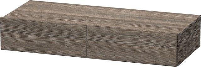 Duravit DuraStyle Schubkastenablage B:100xH:15xT:44 cm 2 Schubkästen pine terra DS827005151