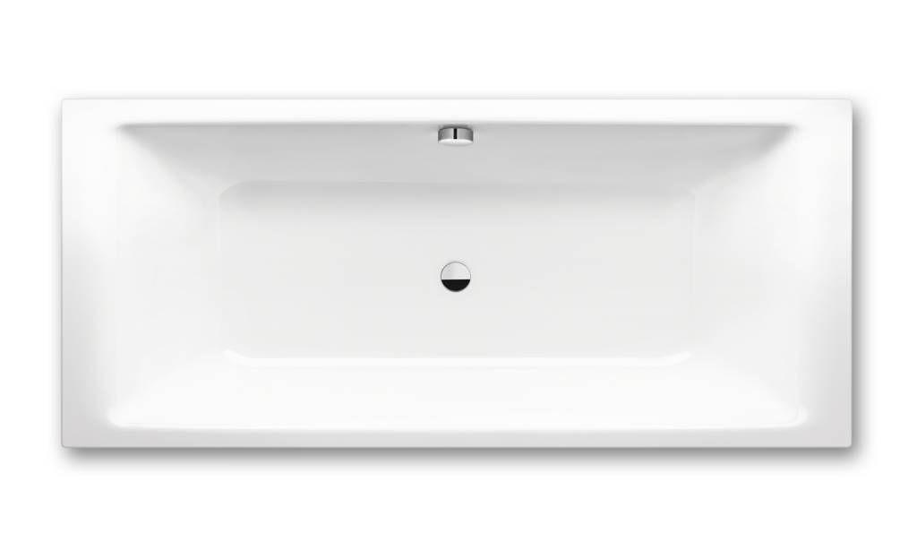 Kaldewei Ambiente Puro Duo 663 Rechteck-Badewanne L:170xB:75xT:42cm weiß 266310110001