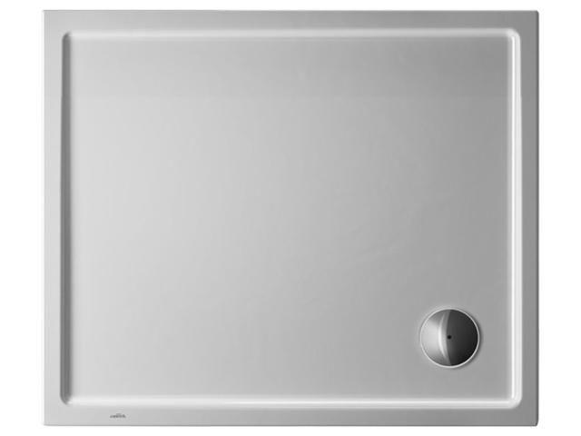 Duravit Starck Rechteck-Duschwanne B:75xL:90xH:4,5cm weiß mit Antislip 720117000000001