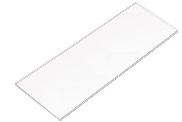 HEWI Glasplatte Serie 477 aus Klarglas 197mm breit 477.03.524
