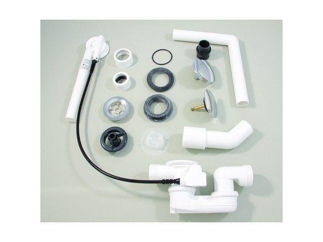 Ideal Standard Ab- und Überlaufgarnitur MULTIPLEX chrom K7804AA