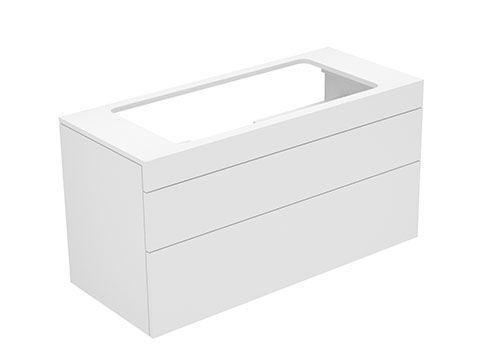 Keuco Edition 400 Waschtischunterbau 2 Frontauszüge 1050 x 546 x 450 mm eiche cashmere/eiche cashm. 31582870001