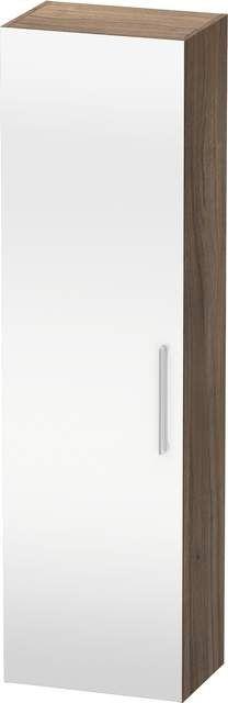 Duravit Vero Hochschrank B:50xH:176xT:36cm 1 Spiegeltür Türanschlag links Nussbaum natur VE1176L7979