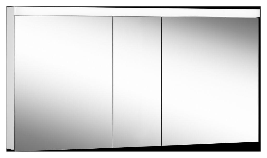Schneider Spiegelschrank LOWLINE Plus 150/3/LED B:150xH:74,8xT:12cm mit Beleuchtung weiß 172.150.02.0201