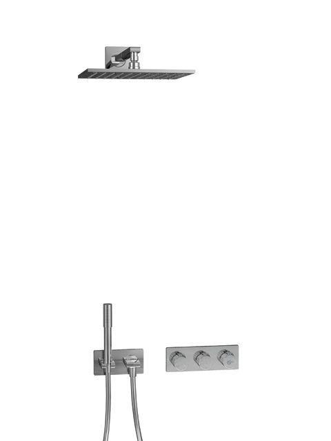 Ideal Standard ARCHIMODULE Brauseanwendung mit Kopf- und Handbrause chrom A1556AA
