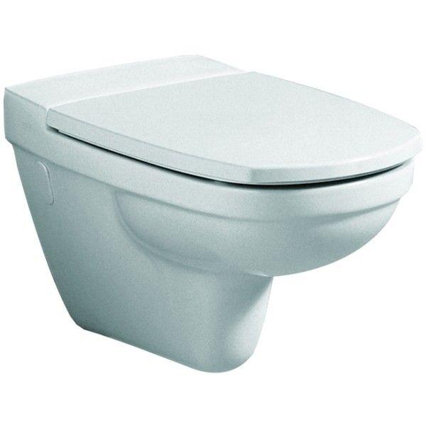 Geberit Keramag Vitelle WC-Sitz mit Absenkautomatik weiß, Scharniere Messing verchromt 573625000