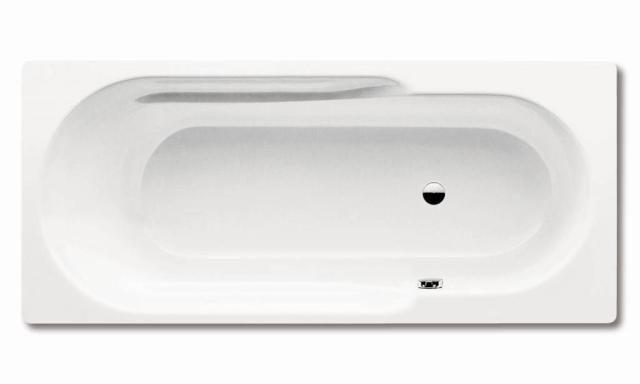 Kaldewei Ambiente RONDO 710 Badewanne Rechteck 180x80x44cm alpinweiß Perl-Effekt 221700013001