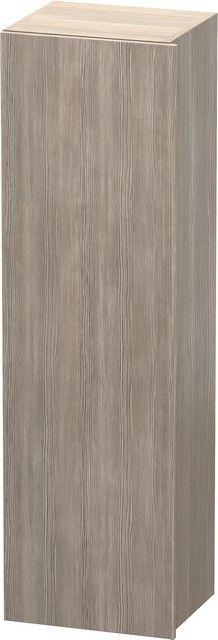 Duravit DuraStyle Hochschrank B:40xH:140xT:36 cm mit 1 Tür Türanschlag links pine silver DS1219L3131