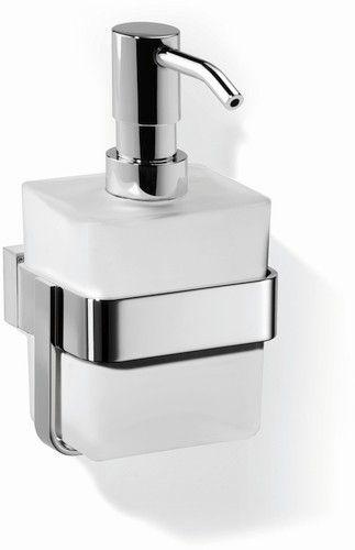Giese Gifix Tono Lotionspender Wandmodell Glasbehälter satiniert verchromt 39014-02