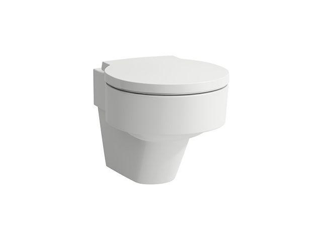 Laufen Tiefspül-WC wandhängend Val 530x390x365 spülrandlos LCC weiss H8202814000001