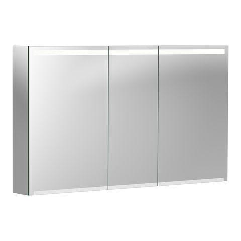Geberit Keramag Option Spiegelschrank B:120 x H:70 x T:15 cm Korpus: weiß matt-verspiegelt, Front: verspiegelt 500207001