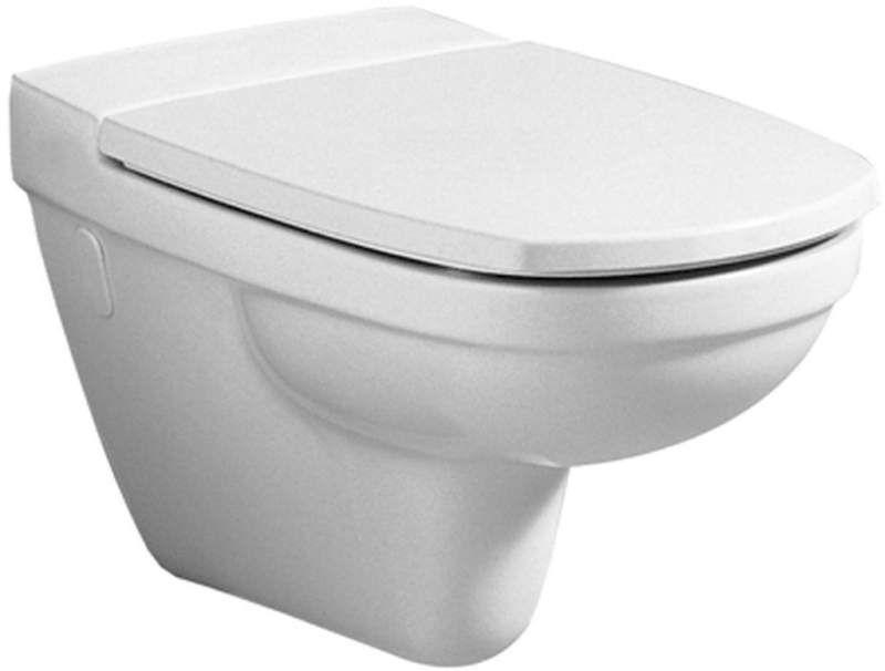 Geberit Keramag Vitelle WC-Sitz ohne Absenkautomatik weiß, Scharniere Edelstahl 573620000