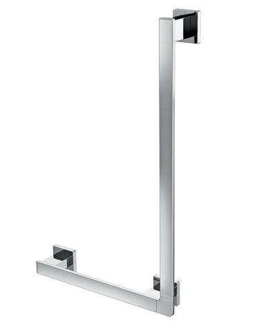 Emco loft Winkelgriff links 90 Grad inkl Befestigungsmat chrom 057000106