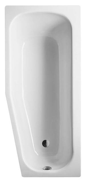 Bette Bambino Raumspar-Badewanne L:157xB:70xT:41cm rechts weiß mit BetteGlasur Plus 2580-000PLUS