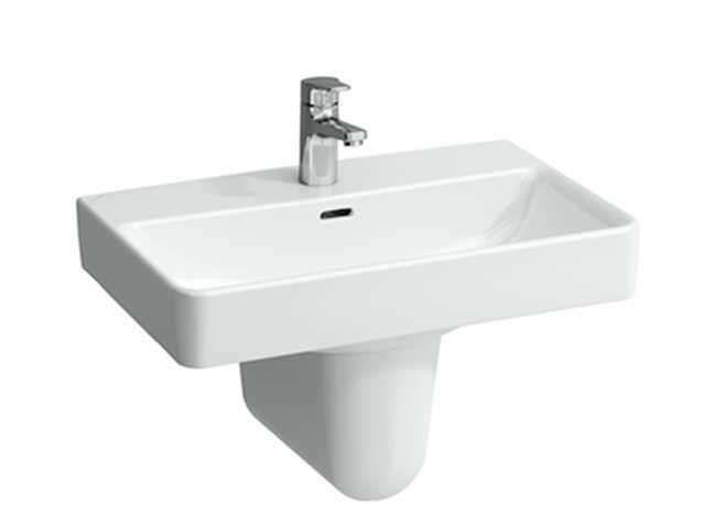 Laufen Pro S Waschtisch B:60xT:38cm ohne Hahnloch mit Überlauf weiß H8189590001091