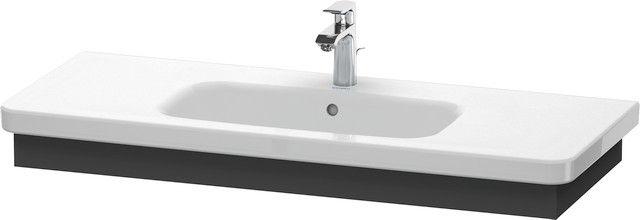 Duravit DuraStyle Waschtischblende B:113xH:8,4xT:44,8 cm graphit matt DS608304949