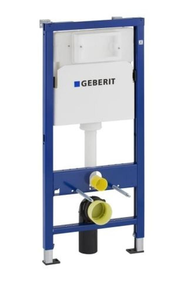 Geberit DuofixBasic Montageelement für Wand-WC 112cm mit UP100 Spülkasten 458103001
