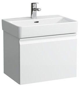 Laufen PRO S Waschtischunterbau 1 Auszug und Innenschublade B:51xH:39xT:37cm weiß matt H4830220954631